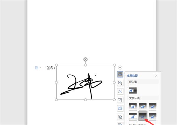 图片[4]-WPS用Word做电子签名步骤方法-飞享资源网
